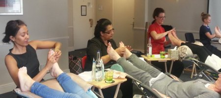 reflexology course nottingham